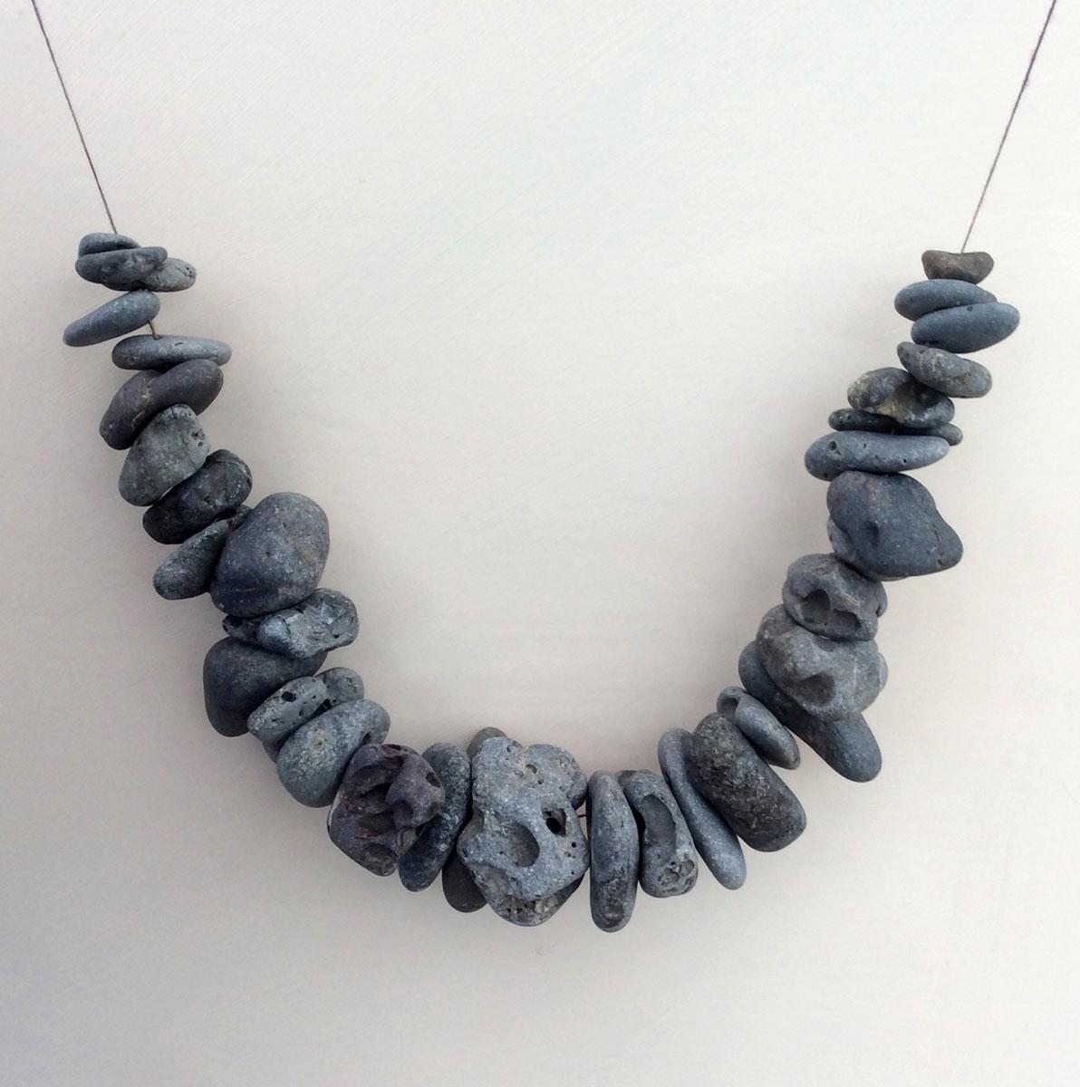 Neckpiece – Weight of Lava – Heather Cowie