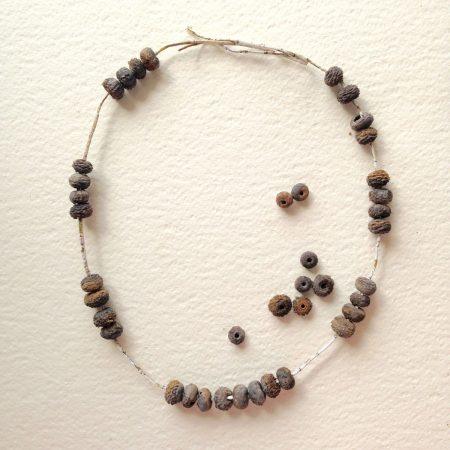 Neckpiece – Seed Wrap – Heather Cowie